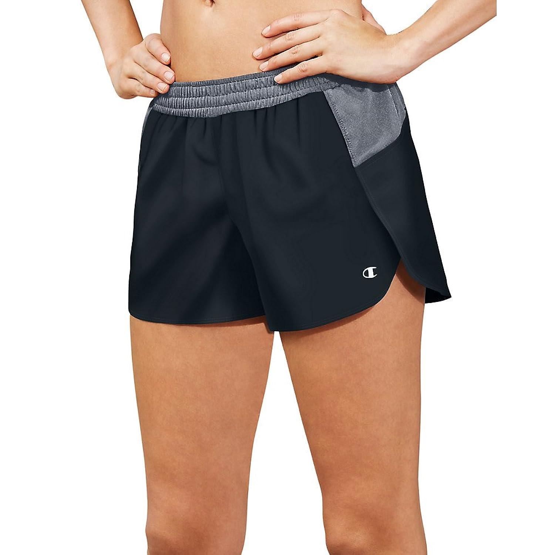 Champion Womens Sport Shorts 5 M0570_Black/Medium Grey