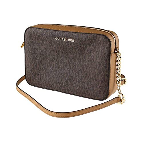 Michael Kors Women's Jet Set Item Lg Crossbody No Size (Brown Acorn) best stylish purses for fall