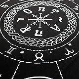 Tarot Bag and Cloth, Triple Moon Goddess and