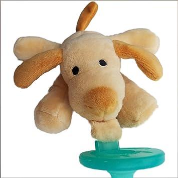 Amazon.com: Chupete de felpa para bebé en una caja de regalo ...
