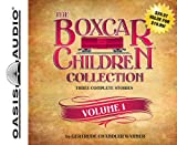 Boxcar Children Volume #1: Boxcar Children, Surprise Island, The Yellow House Mystery - unabridged audiobook on CD