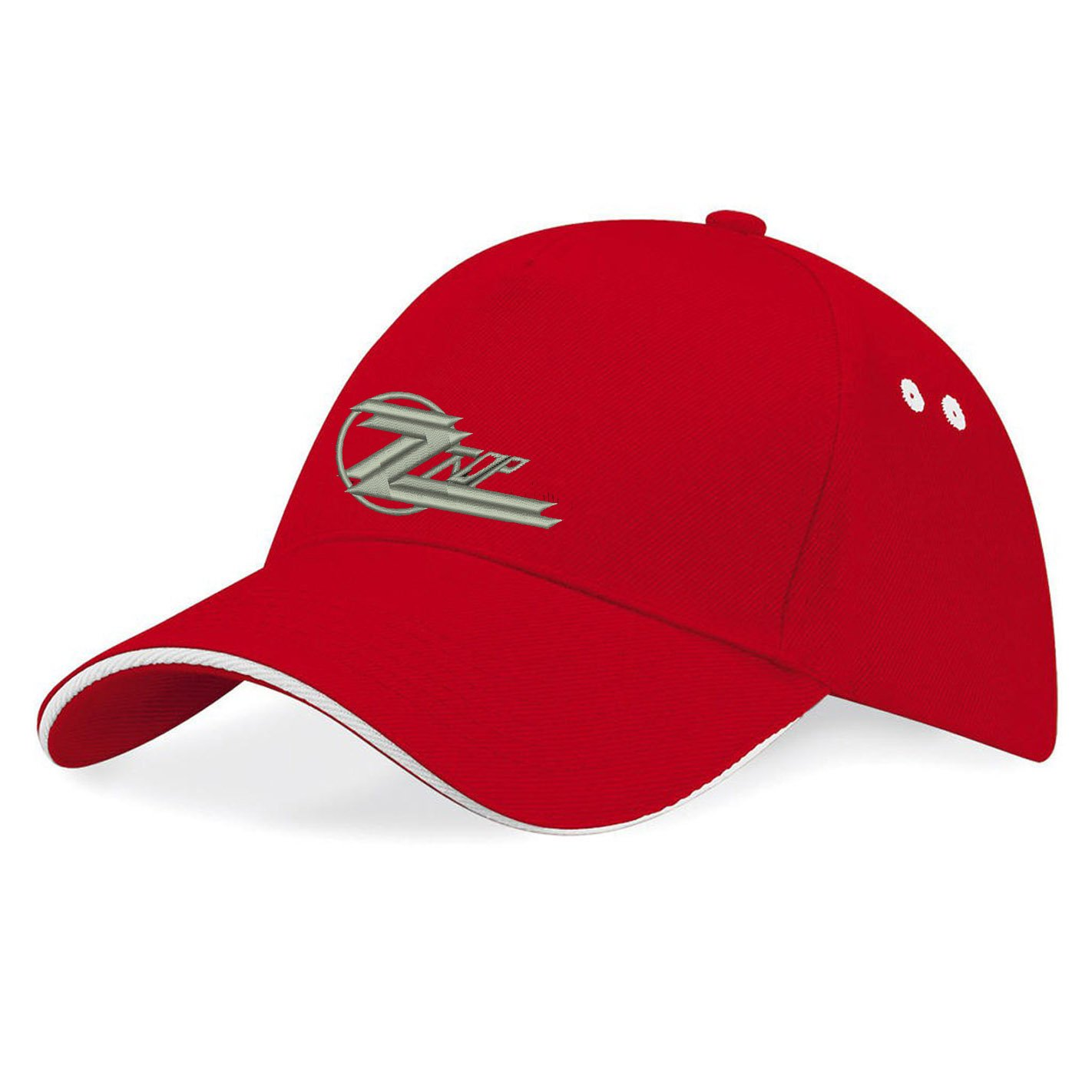 696624e01b1 avstickerei ZZTOP ZZ TOP Rock Metall Rules Music Embroidered Baseball Caps  100% Cotton - k055 (Rot) at Amazon Men s Clothing store