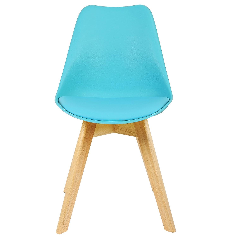 WOLTU 4er Set Esszimmerstühle Küchenstuhl Design Stuhl ...