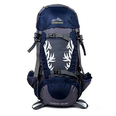 sac à dos randonnée Sac d'alpinisme de camping en plein air 50L hommes et femmes voyagent sac d'alpinisme de sac à dos de grande capacité (taille: 30 * 27 * 60cm) Sacs à dos de randonn&eacut