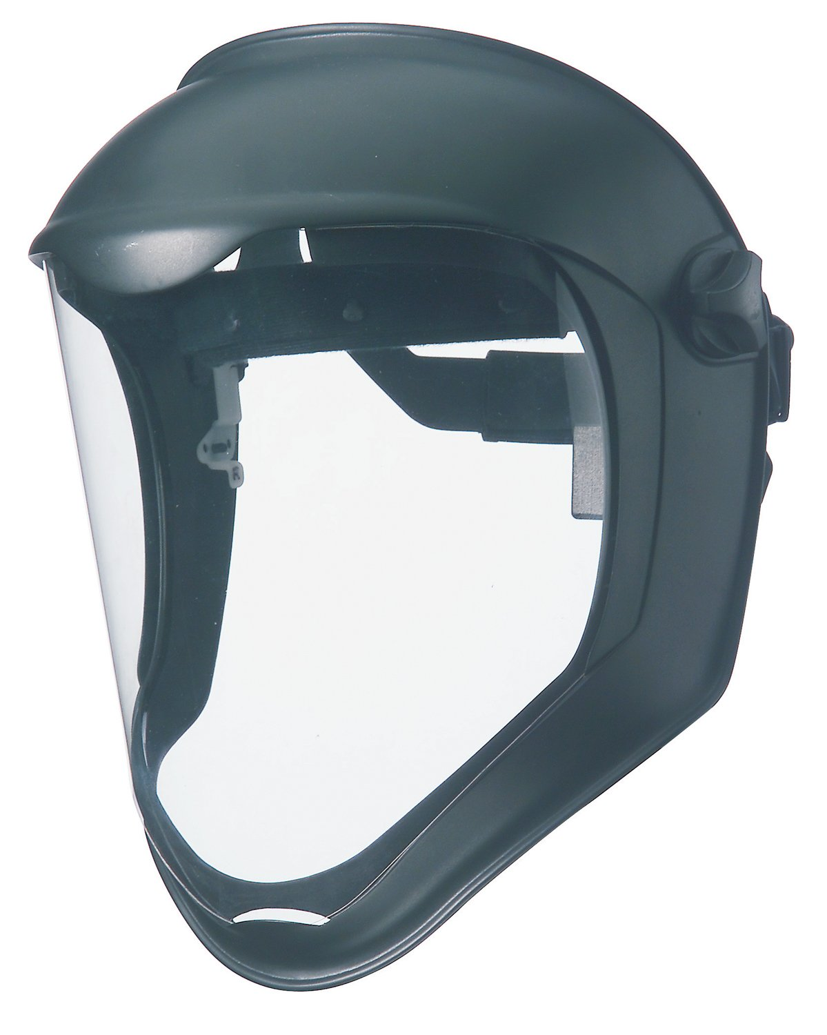 Uvex by Honeywell S8500 Bionic Face Shields, Uncoated, Clear/Black Matte by Honeywell
