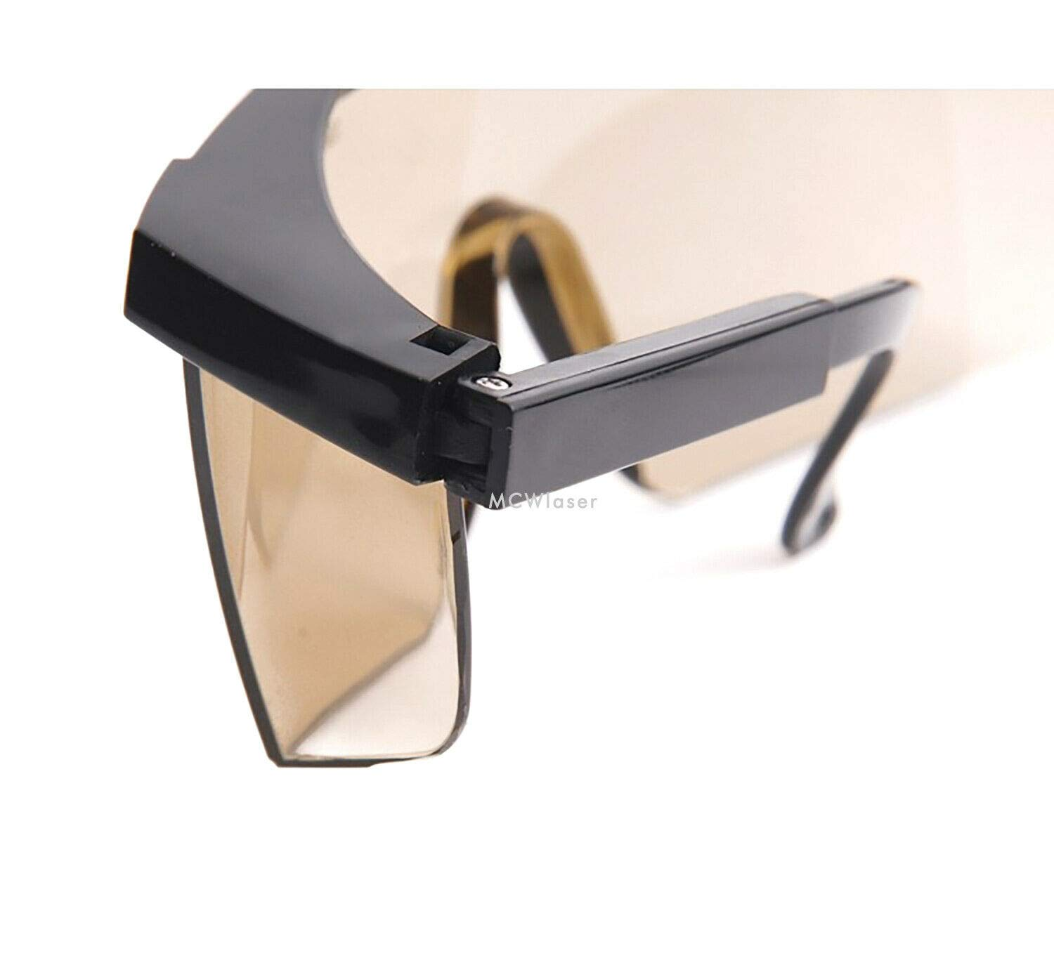 HQ OD5 10600nm 10.6um CO2 Laser Protective Glasses Goggles CE EP-4-5