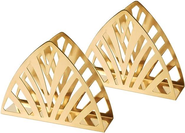 ASF15 Moderna Servilletero Acero Inoxidable, Oro servilleta Organizador, for el Restaurante, Cocina encimeras, Mesa de Comedor, Bar 19 × 5.5 × 14 cm (Size : 1 pcs): Amazon.es: Hogar