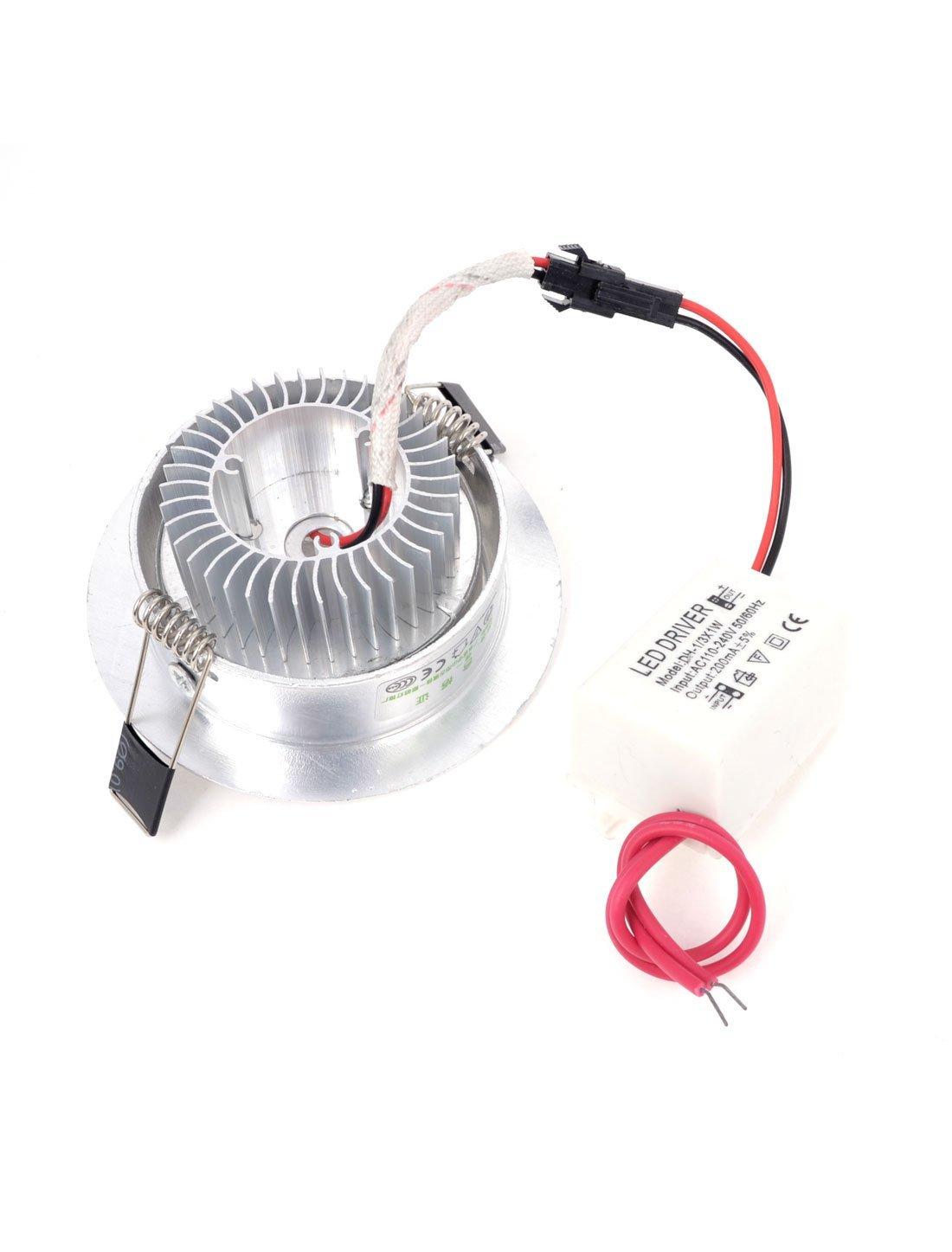 CA 110-240V 3W 3 LED de ahorro de energía del techo bombilla abajo blanco cálido - - Amazon.com