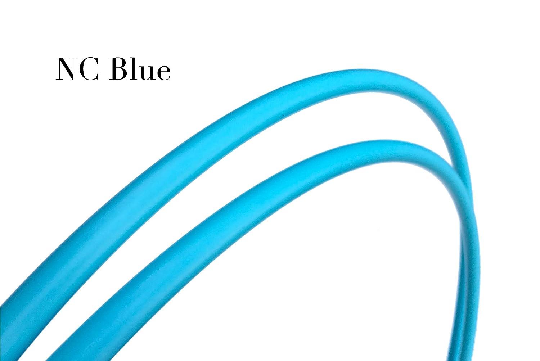 SpinMajik NC 5/8インチ ツインダブル 外径ポリプロピレンフラフープ ツインダブル Blue 高度なフラフープダンスとオフボディフラフープトリック用 B07MD42RYD NC Blue 30 30|NC Blue, おしゃれ年賀状とジュエリー夢工房:58ef9063 --- krianta.com