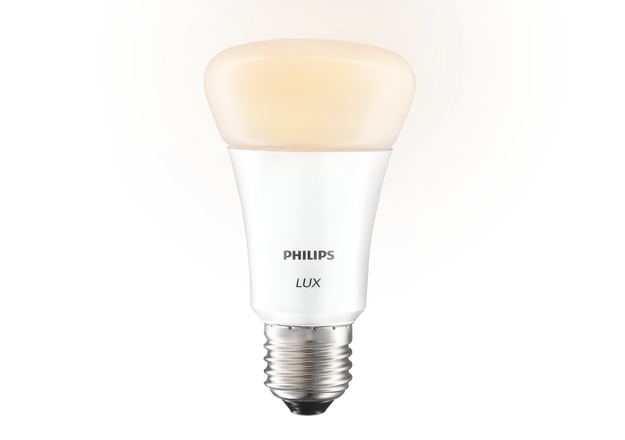 Philips 433706 Hue Lux Starter Kit, 2 Bulbs and 1 Bridge, 60W Equivalent A19 LED, 1st Generation