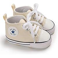 Babycute Baby Canvas Schoenen Trainers Zachte Zool Casual Sneakers Baby Jongens Meisjes Eerste Wandelschoenen Lace Up…