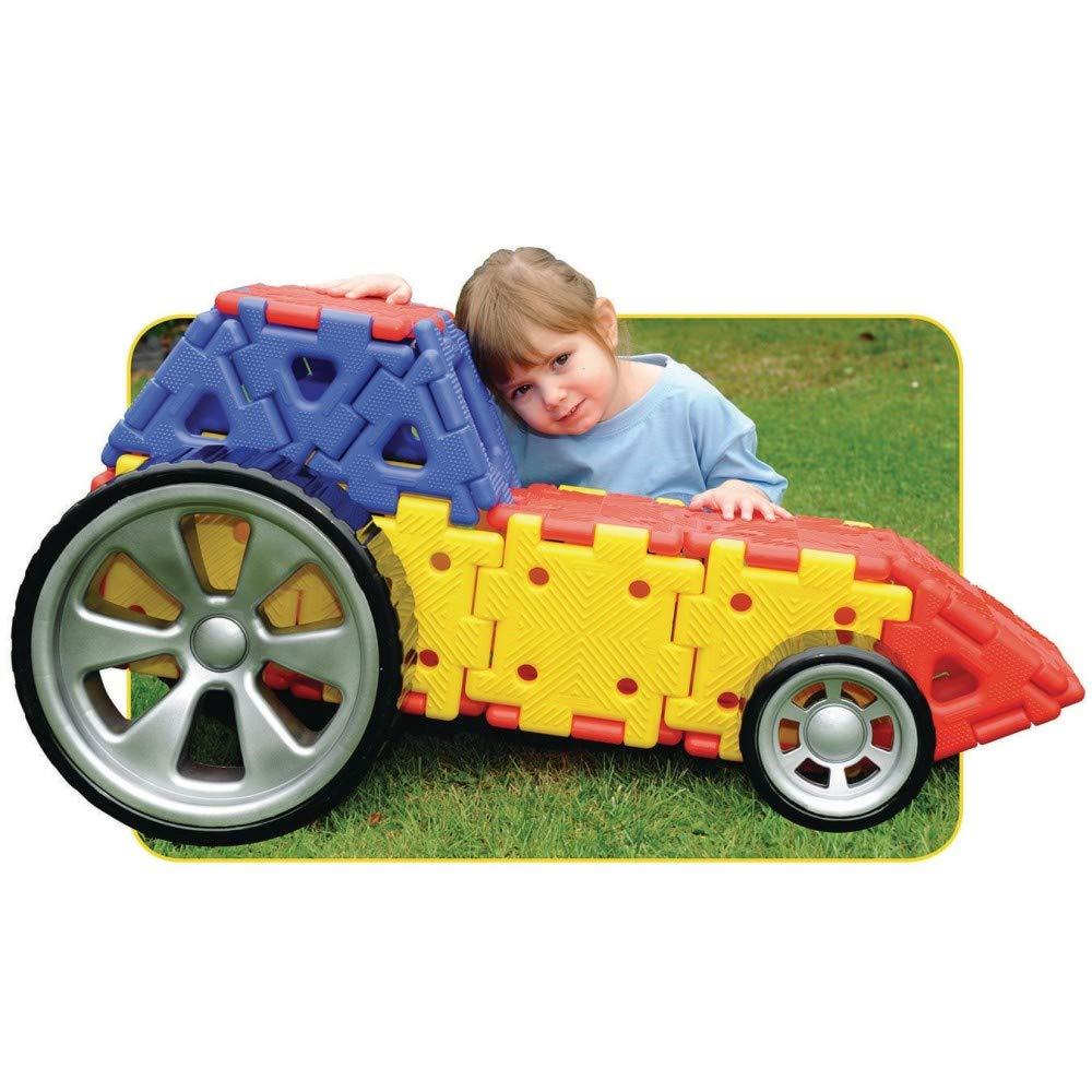 Giant Polydron Vehicle Builder Set