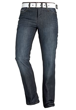 e883c25968bc CrossHatch Herren Straight Jeans Princed, Blau (Dark Wash Dark Wash), W30