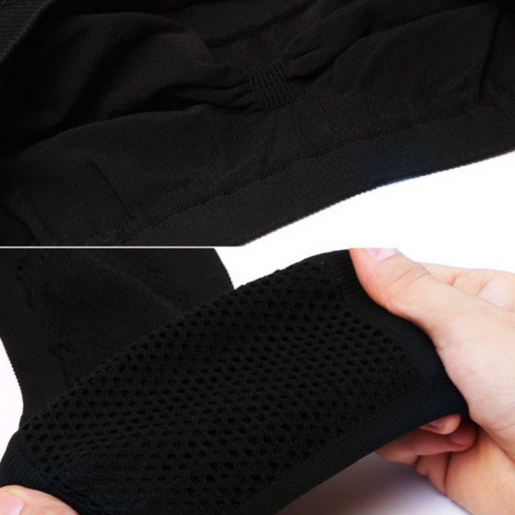 Chiic Femmes Taille Unique sans Bretelles sans Couture Bandeau Stretch Tube Top Bra Mesh Couleur Unie