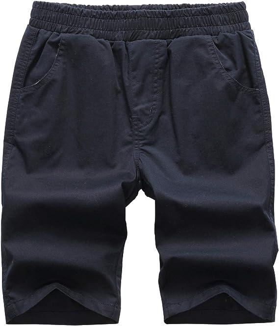 LAUSONS Pantalones Cortos para niño - Pantalon Chino Corto de ...