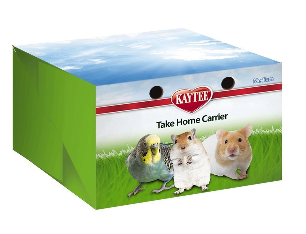Super Pet Take-Home Box, Medium, 200-Pack Case Kaytee 100079632