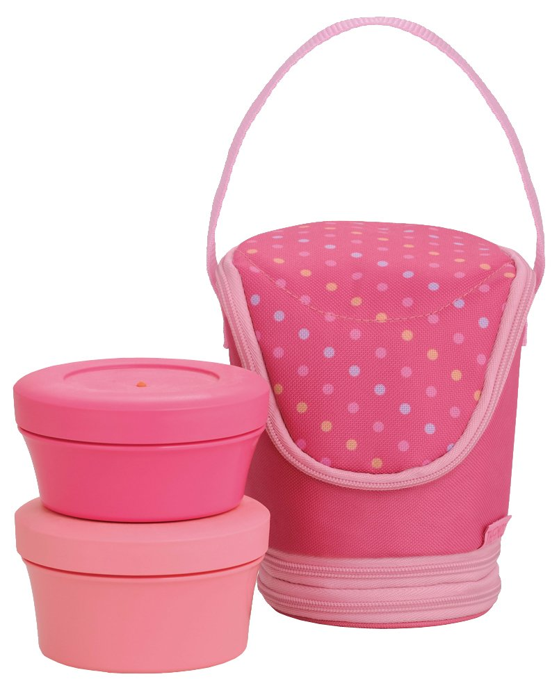 THERMOS Fresh food container 0.545L Peach DJI-500 PCH (japan import)