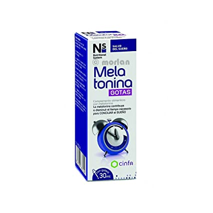 NS Nutritional System Melatonina Gotas, 30ml: Amazon.es: Salud y ...