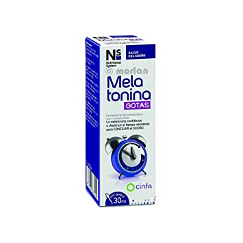 NS Nutritional System Melatonina Gotas, 30ml: Amazon.es: Salud y cuidado personal