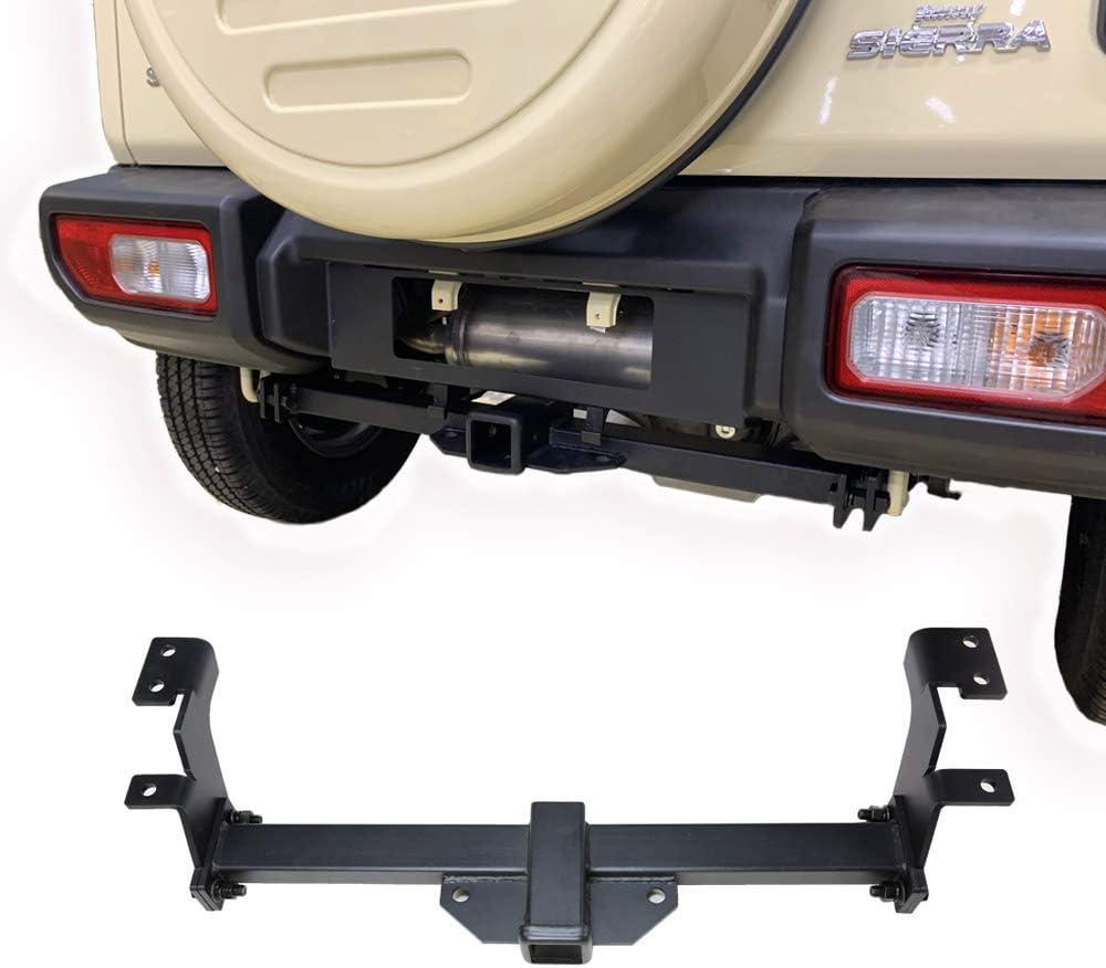 Bosmutus Off Road S-uzuki J-imny 4WD Rear Bumper Tow Kit for 2018-2019 J-IMNY JB64//JB74 Series【Steel+rustproof】