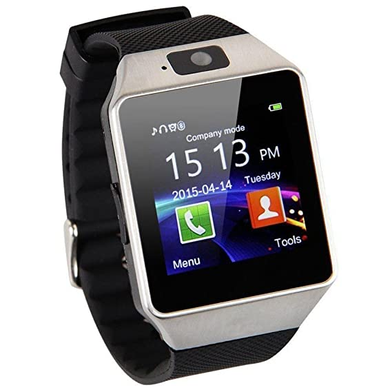 4a129348037 Image Unavailable. Image not available for. Color  Bluetooth Smart Watch  Smartwatch DZ09 Android Phone Call Relogio 2G GSM SIM TF Card Camera for