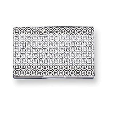 Amazon swarovski crystal business card holder jewelry swarovski crystal business card holder colourmoves