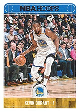 the latest 88461 da2ae Kevin Durant 2017 2018 Panini Hoops #237 Mint Golden State Warriors  Basketball Card in Protective Screwdown Display Case