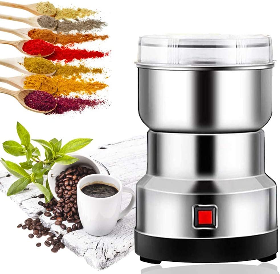 Multifunction Smash Machine Safety Upgraded Coffee & Spice Grinders Electric Household High-speed Spice Herb Mill Powder Machine Dry Cereals Grinder