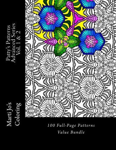 Patty's Patterns - Advanced Series Vol. 1 & 2: 100 Full-Page Patterns Value Bundle Advanced Pattern