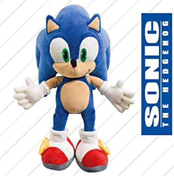 Sonic X The Hedgehog Peluche suave 32 cm – Colores a Elegir