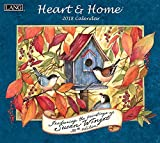 Heart & Home 2018 Calendar: Free Bonus Download 12 Images Desktop Wallpaper (Deluxe Wall)