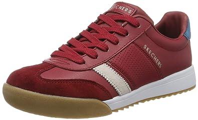 Skechers Womens Zinger Suede Retro Trainer Sneaker