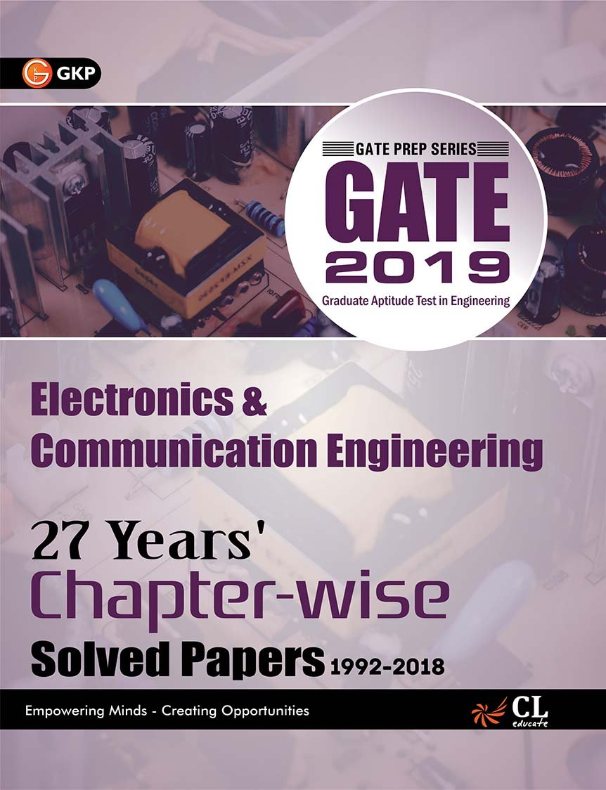 Buy Gate Electronics & Communication Engg. (27 Year's Chapter wise Solved  Papers) 2019 Book Online at Low Prices in India   Gate Electronics &  Communication ...