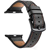 Zeiger 38MM 40MM or 42MM 44MM Calfskin Leather Band for All iwatch Versions Variety of Styles