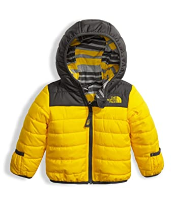 The North Face Infant Reversible Perrito Jacket - Canary Yellow - 6M (Past  Season)