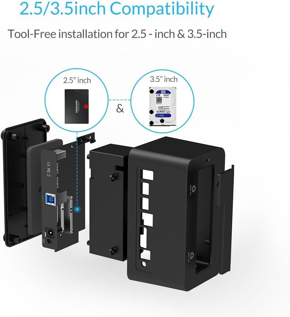 Amazon.com: idsonix u3102 USB 3.0/2.0 SATA 1 bahía estación ...