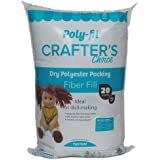 Poly-Fil CCDF20 Crafter's Choice Dry Packing Fiber Fill 20 Ounce Bag,