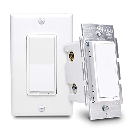 smart wifi wall dimmer light switch, works with existing regular 3Three Way Switch Alexa #18
