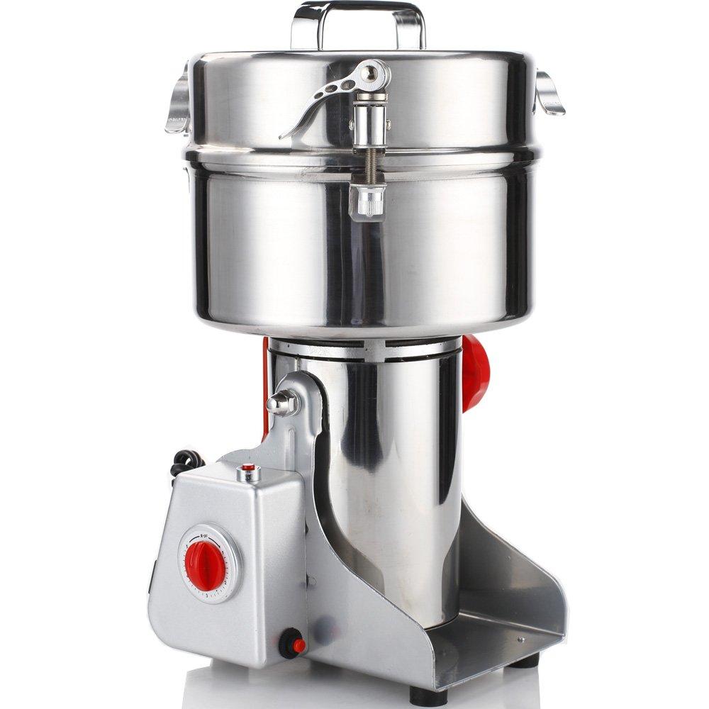 DaMai 2000g Commercial Electric Stainless Steel Grain Grinder Mill Spice Herb Cereal Mill Grinder Flour Mill pulverizer 110v Or 220v
