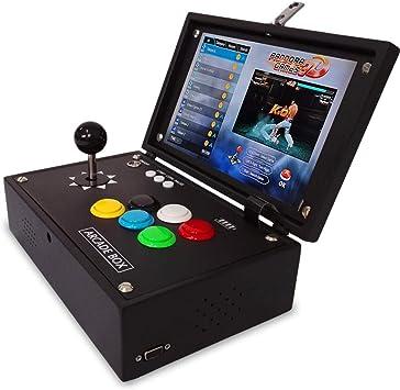 YBCN - Mini Mecedora portátil de 10 Pulgadas con Pantalla LCD de 2448 Juegos, con Mango USB y Tarjeta de Memoria TF: Amazon.es: Electrónica