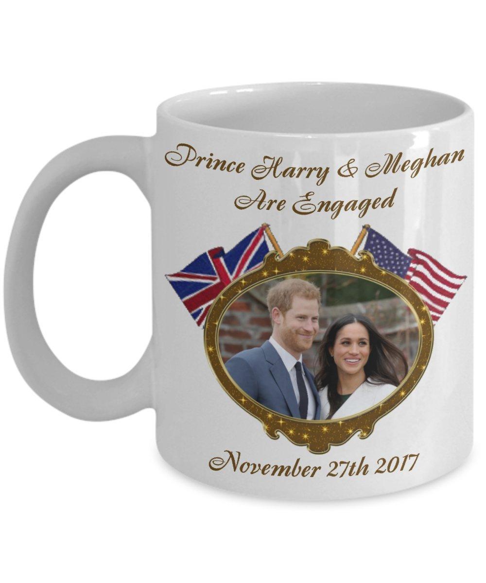 Tea Meghan Commemorative Are Mug Mugs Of And Prince Harry Engaged Coffee OXuPkZi