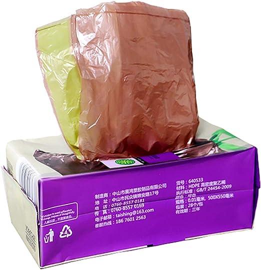 Bolsa de basura, biodegradable, 19.7 pulgadas de ancho x 21.6 ...