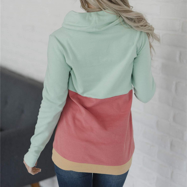 Women Hoodie Sweatshirt Long Sleeve Jumper Pullover Tops Outwear Hoodies Autumn Casual Women Tops