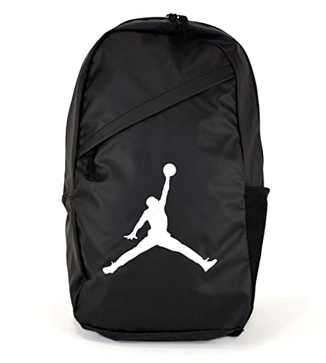 Amazon.com  Nike AIR JORDAN Backpack Crossover Pack (Black)  Sports    Outdoors d58afe23d9c5e