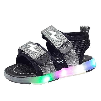 Schuhe Sandalen Leuchten Sommer Kind Sport Kleinkind Led Baby Befestigung Kinder Touch Flache Leuchtenden Jungenamp; Mädchen Turnschuhe DIeH2YWE9b