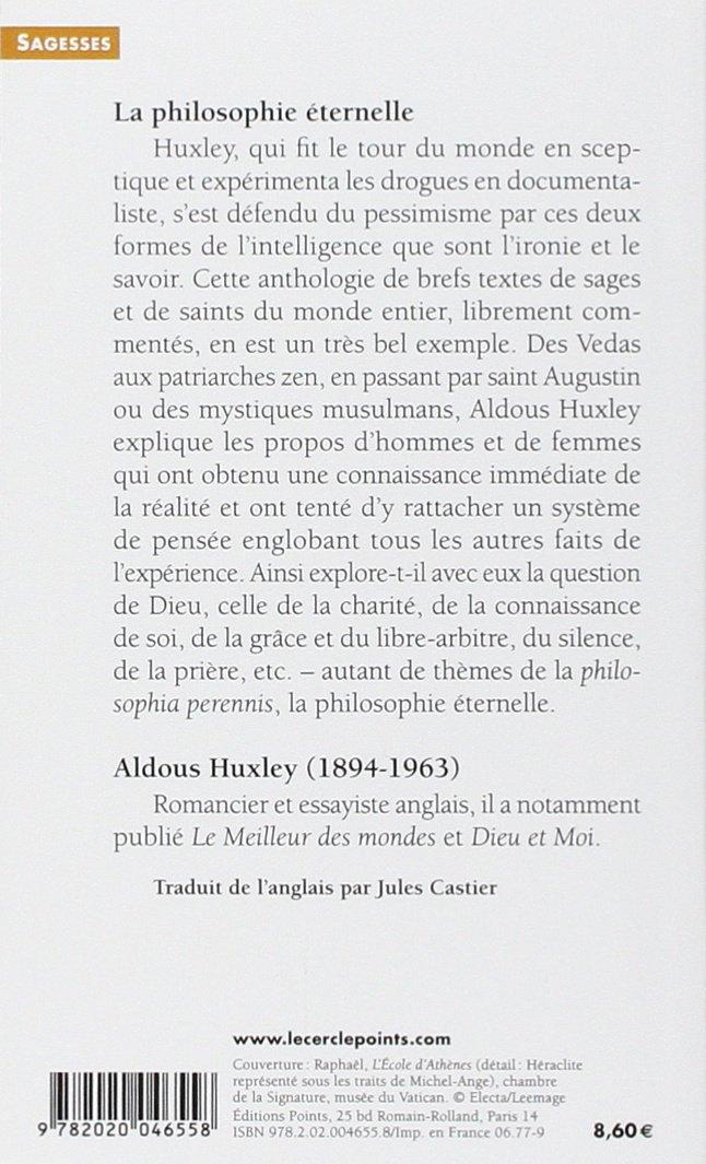 AmazonFr  La Philosophie ternelle  Aldous Huxley  Livres