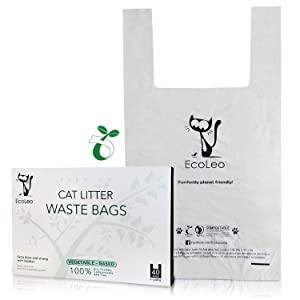 EcoLeo Cat Litter Waste Poop Bags