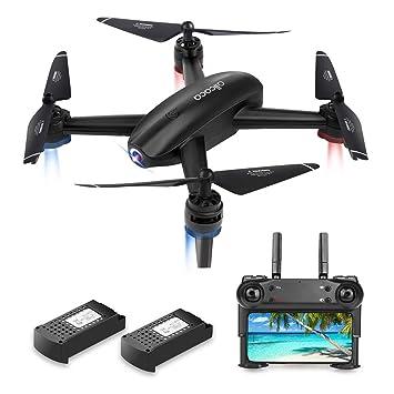 allcaca RC Quadcopter Drone con cámara FPV Drone Cámara HD 720P ...