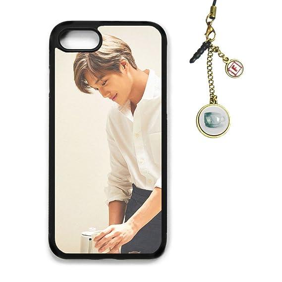 wholesale dealer c566d 97124 Amazon.com: Fanstown Kpop EXO iPhone 7/8 case Universe + Album Logo ...