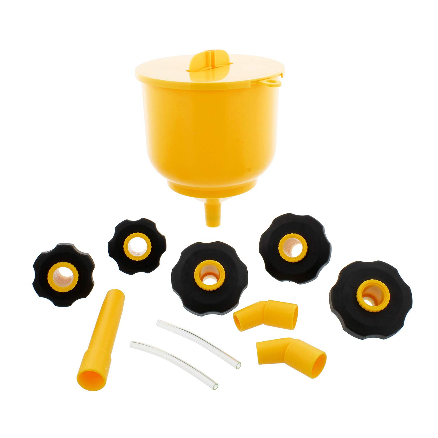 Coolant Funnel Kit Radiator Spill Free Funnel Auto Coolant Flush Kit No Spill Funnel Radiator Funnel Fill Kit ABN